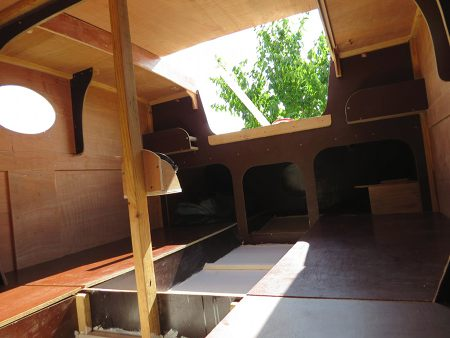 sailing scow bunks